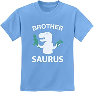 TeeStars - Brother Saurus - Cute Boy T-Rex Gift for Big Brother Kids T-Shirt
