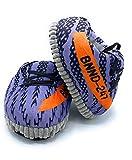 CLEMARS - Zapatillas gigantes de estar por casa, talla única 38-43, zapatillas deportivas de estar por casa, zapatillas gigantes de andar por casa. (Yeez Gris)