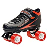 Roller Derby Viper Roller Skates Speed ​​- Black / Red 38