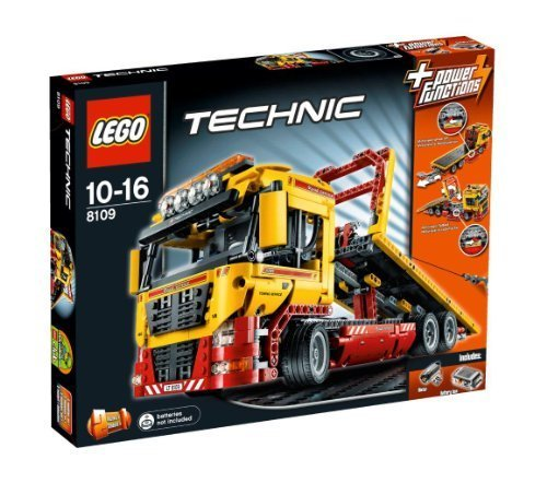 LEGO Technic 2-in-1 Flatbed Truck (8109) by LEGO (English Manual)