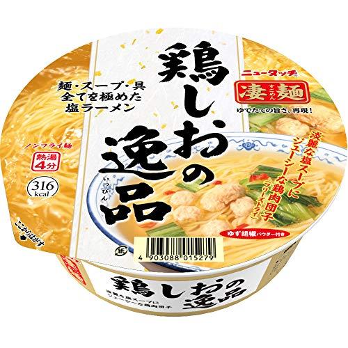 大和 一朗選出_第3位:ヤマダイ『ニュータッチ凄麺 鶏しおの逸品』