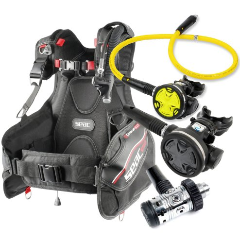 SEAC Ego BCD Scuba Gear BC Regulator Package