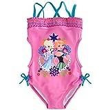 Disney Anna & Elsa Trikini Swimsuit for Girls (7/8) Pink