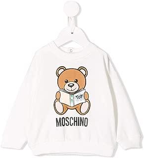 Luxury Fashion | Moschino Baby-Boys MUF02ZLDA1410063 White Sweatshirt | Autumn-Winter 19