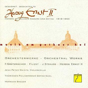 Herzog Ernst II gewidmet: Orchesterwerke (Musik am Gothaer Hof)