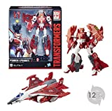 TRANSFORMERS Generation - Robot Voyager Elita avion 20cm - Jouet transformable 2 en 1