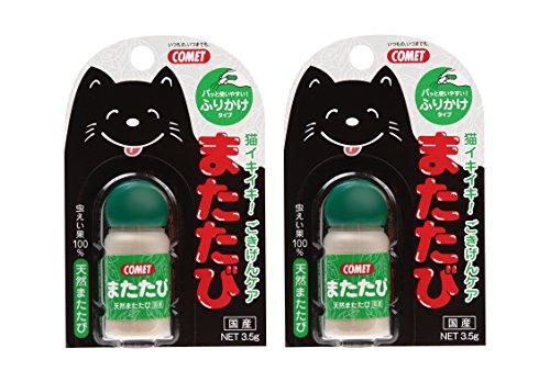 コメット 猫用おやつ またたび 3.5g×2個 (まとめ買い)