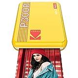 """Kodak Mini 3 Retro Impresora de Fotos Portátil con Tecnología 4Pass, Foto Real: 3""""x3"""" / 7.62cm x 7,6cm, Compatibles con iOS, Android y Dispositivos Bluetooth – Color Amarillo"""