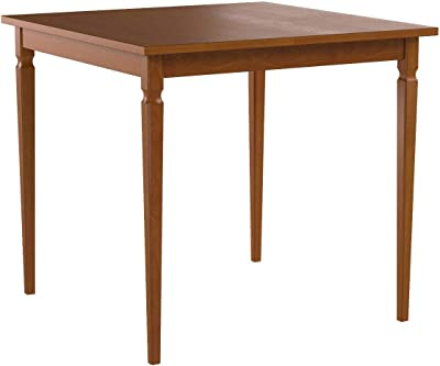 Zinus Drury Counter Height Square Wood Dining Table / Table Only