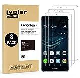 iVoler [Pack de 3] Verre Trempé pour Huawei P9 Lite, Film Protection en Verre trempé écran Protecteur vitre