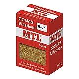 MTL 16371 - Caja gomas elásticas, 2 mm x 16 cm