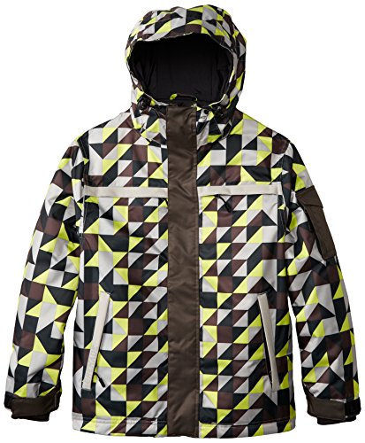 Grenade Boys G-Squared Jacket, X-Large, Lime