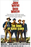 The Sons of Katie Elder Movie Poster John Wayne Dean Martin