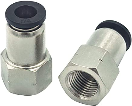 Male Elbow 90 Deg Swivel Elbow 6mmTube-3//8NPT H59 Series Pneumatic Push in Quick Touch to Connect Fitting