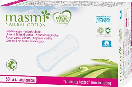 MASMI NATURAL COTTON Bio Slipeinlagen Classic (30 Stück)