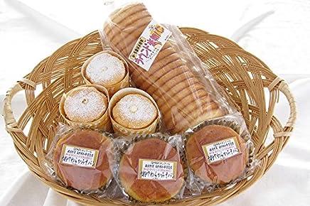 JA全農長野 加工組合さくら贅沢米粉シフォン&こだわり米粉パンセット 3種