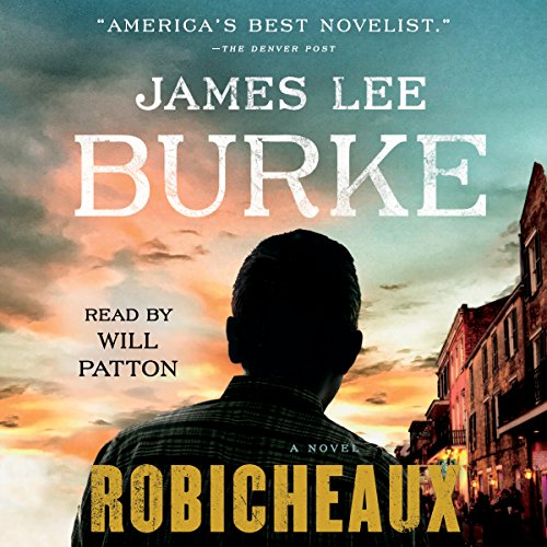 Robicheaux audiobook cover art