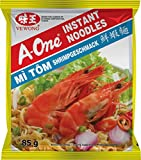 A-ONE Fideos Instantáneos, Sabor Gambas 85 g