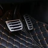 Per Discovery sport 2015-2018 Car Fuel gas pedale del freno cover Trim For RR Evoque 2012-...