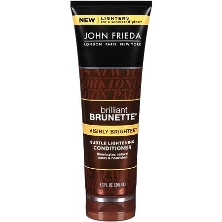 John Frieda Conditioner Brilliant Brunette Deep 8.3 Ounce (245ml) (2 Pack)