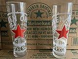 Heineken 2 x verre à pinte Heineken trempé et nucléé (2 verres)