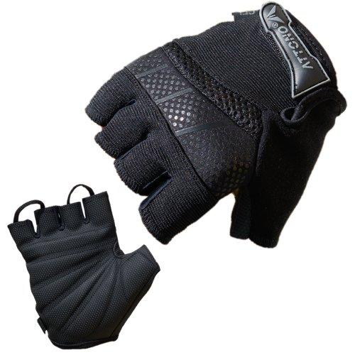 ATTONO Fahrradhandschuhe Gel Fahrrad Bike Rad Handschuhe - Größe 9
