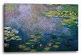 Leinwand (120x80cm): Claude Monet - Seerosen