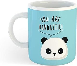 I-TOTAL® -Tasse à Café Ceramic pour café/the, capacité 300 ML (PANDA)