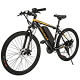 ANCHEER 350W Electric Bike 26/27.5'' Adults Electric Bicycle/Electric...