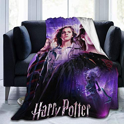 Miwaimao Ha_rry Poster Po_tter Manta de microforro polar ultra suave, suave, ligera, hipoalergénica, de felpa, sofá de cama, sala de estar