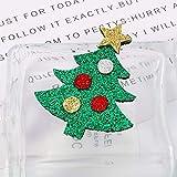 Moares Fashion Albero di Natale Feltro Corpetto Spilla Spilla Distintivo di Natale Accessorio per Decorazioni in Stoffa Albero di Natale
