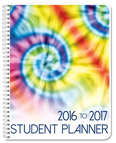 BookFactory 2016-2017 Student Planner/Agenda/Organizer/Calendar (132 Pages) - 8.5� X 11� Wire-O (CAL-132-7CW-A(Student-Planner16-17))
