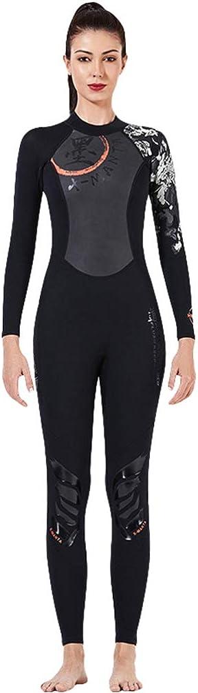 YuanDian Hombre Mujer 3MM//1.5MM Traje de Buceo Traje de Neopreno Protecci/ón Solar Traje de Ba/ño Surf Nataci/ón Snorkeling Trajes De Submarinismo Wetsuit