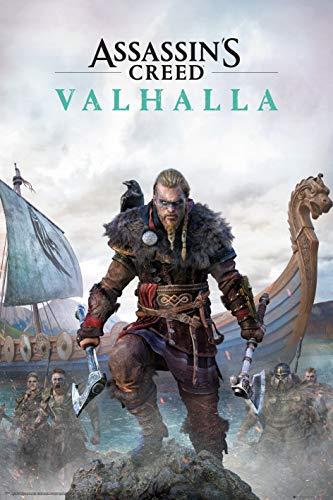 GB eye Assassins Creed Valhalla Standard Edition Maxi-Poster, mehrfarbig, 24 x 36 inches, UTTA6532_1