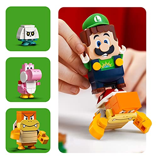 LEGO-71387-Super-Mario-Adventures-with-Luigi-Starter-Course-Toy-Interactive-Figure-and-Buildable-Game-Set