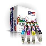 Multipack 10 Cartuchos de tinta compatibles para Epson T0615 con la viruta para Epson Stylus D68 / D68 PE / D88 / D88 PE / D88 Plus; Stylus DX 3800 / DX 3850 / DX 3850 Plus / DX 4200 / DX 4250 / DX 4800 / DX 4850 / DX 4850 Plus