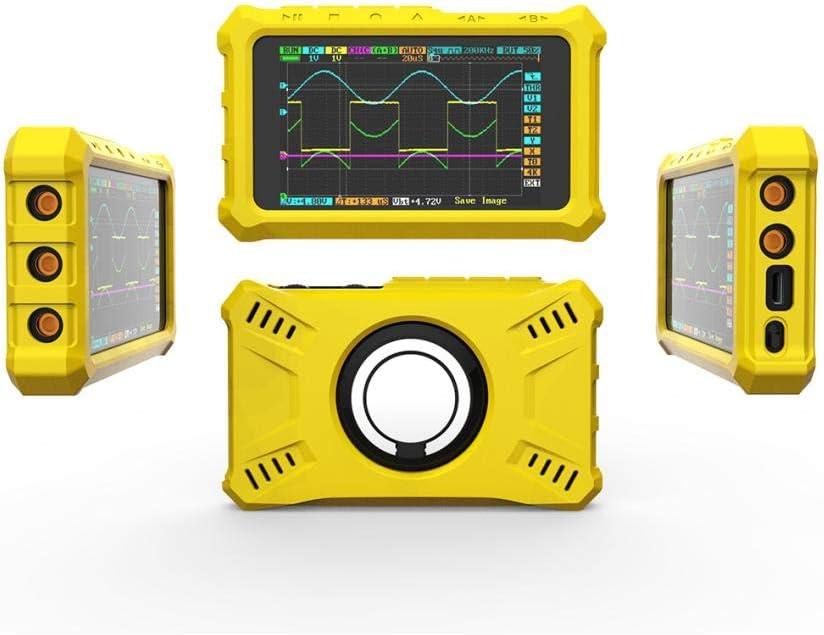 SDENSHI Soporte de La Cubierta de La Caja Protectora a Prueba de Golpes para El Oscilocopio Digital DS213 DS203 Negro
