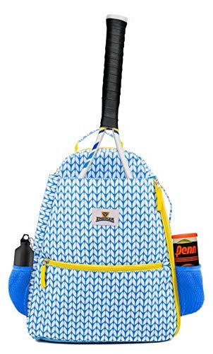 Tennis Backpack for Women – Lightweight Tennis Racket Bag Stores 2 Rackets, Balls, and Sports Gear