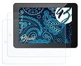 Bruni Schutzfolie kompatibel mit Odys Study Tab Folie, glasklare Bildschirmschutzfolie (2X)