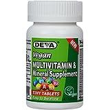 海外直送品Deva Vegan Vitamins Vegan Tiny Tab Multivitamin & Mineral, 90 Tabs