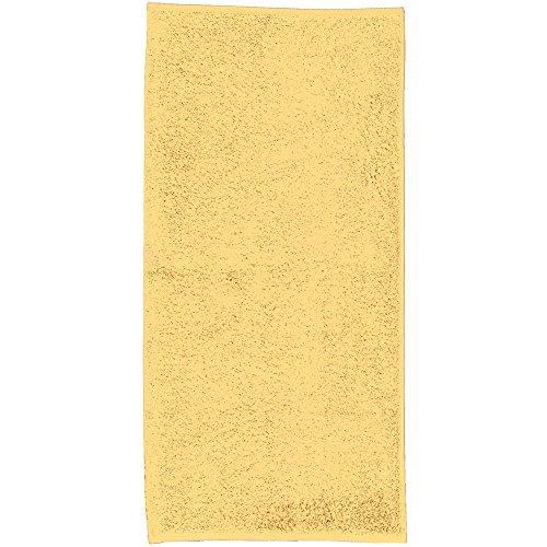 kela Serviette d'invité Ladessa en Coton 30x50cm Jaune, 50x30x0,8 cm