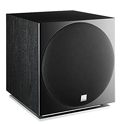 'DALI E-12 °F Active Subwoofer 250 W – Subwoofers/Black Casing (Active Subwoofer, 250 W, 28 – 190 120 Hz, 25000 Hz, 40 OHM, 30.5 cm (12)) from Dali