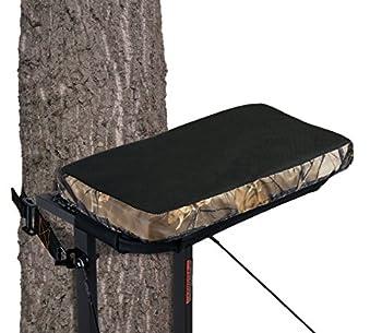 Muddy CR87-V Standard Stander Seat Cushion w/Buckle 18  x 10  x 2   Black