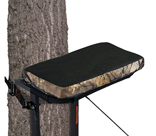 """Muddy CR87-V Standard Stander Seat Cushion w/Buckle 18"""" x 10"""" x 2"""" , Black"""