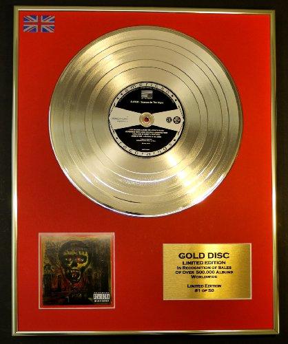 SLAYER/Cd Disco de Oro Disco Edicion Limitada/SEASONS IN THE ABYSS