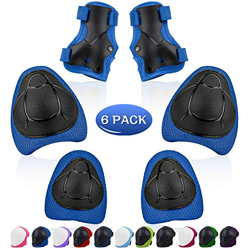 Kids Knee Pads Set, Protective G...
