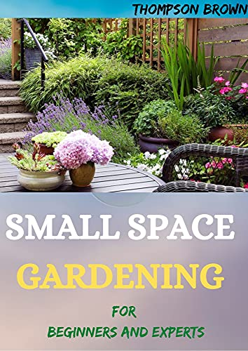 SMALL SPACE GARDENING For Beginners And Experts: Transfigure Your Porch, or Patio with Fruits, Flowers, Foliage, and Herbs (English Edition)