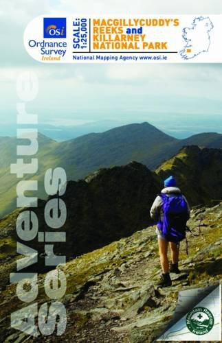 MacGillycuddy's Reeks & Killarney National Park (Irish Maps, Atlases and Guides)