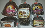 European Sweet Bread Sampler Inludes Cranberry Bread, Sunflower Bread, Pumpkin Seed Bread, Raisin Nut Bread, & Fruit Nut Bread),