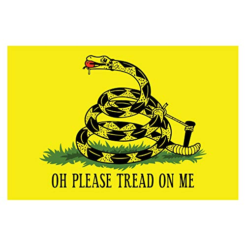Oh Please Tread On Me - 5 Inch Full Color Decal...